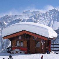 La scuola di sci.