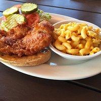 Drew's Fried Chicken Sandwich