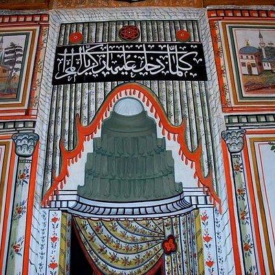 Yazır cami mihrabı