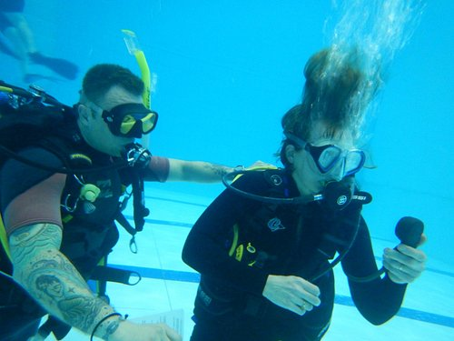 Learning Open Water skills