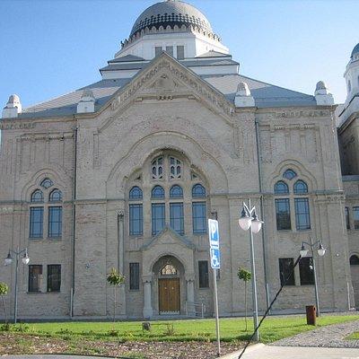 Lučenská synagoga.