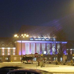 The Gliwice Railway Station