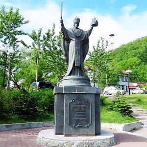 Петропавловск-Камчатский. Памятник Святителю Николаю Чудотворцу.