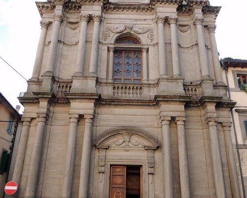 la chiesa - facciata