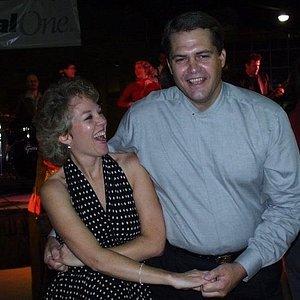Me dancing with my Jeni!
