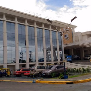 The front of the Bacoor City Hall