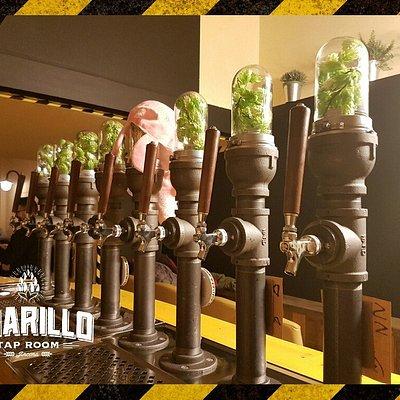 Amarillo. Ottima selezione di birre artigianali alla spina.