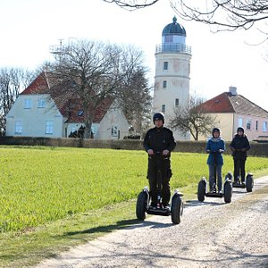 A guided tour on the Segway in southern denmark