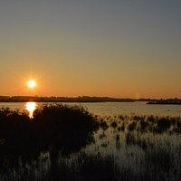 L'alba all'Oasi dei Variconi