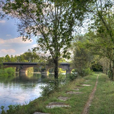 Ponte tra Orzinuovi e Soncino