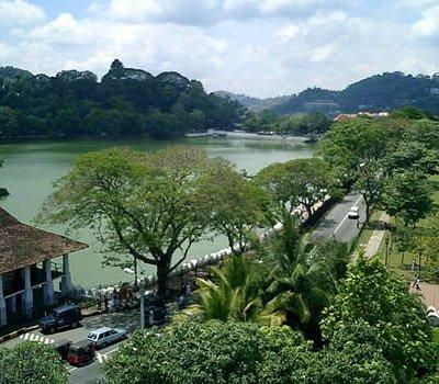 Near the Kandy Temple
