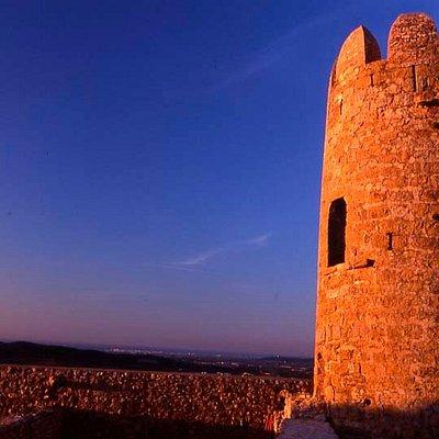 Torre redonda del Castillo Medieval de Ulldecona