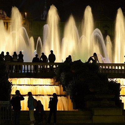 Font Màgica - Barcelona bei Nacht
