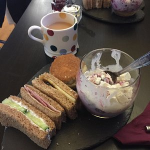 The afternoon tea.