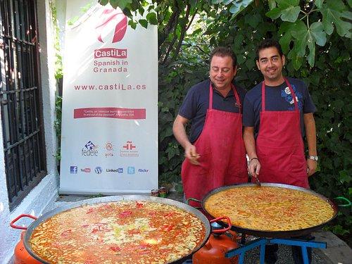 Enjoy the best homemade Paella in Castila.