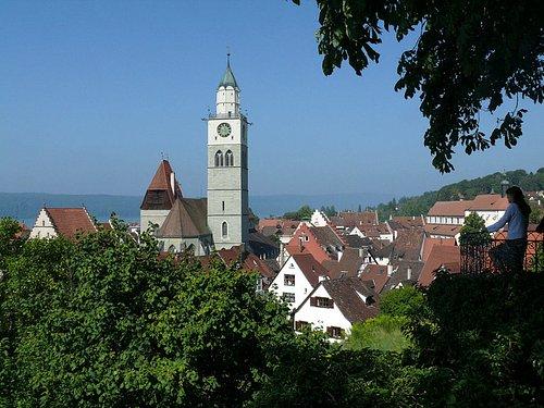 Überlinger Altstadt vom Museumsgarten aus © Roman Eisele