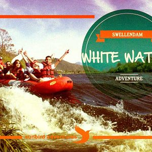 Feel the rush of the Breede River, with water splashing everywhere as you white water raft to yo