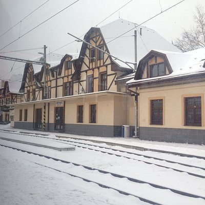 Stary Smokovecs Station, heading towards Strbske Pleso