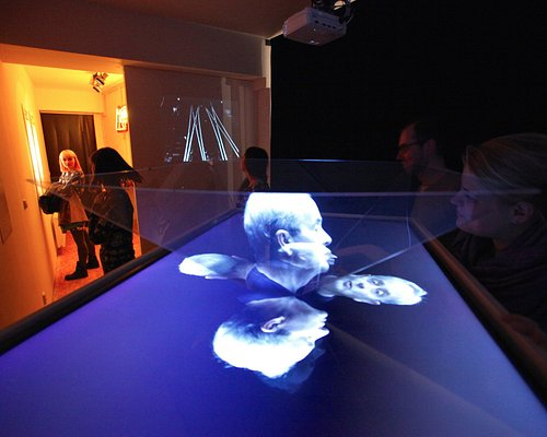 It's an unique film exhibition full of playful interactive exhibits - hidden gem in Prague!
