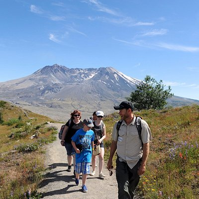 Naturalist Guide in Mt. St. Helens National Monument