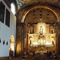 Vista principal de la iglesia de la Concepción