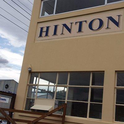 Hinton tasting room