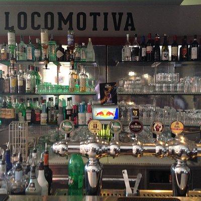 Grande scelta di birra alla spina e cocktail