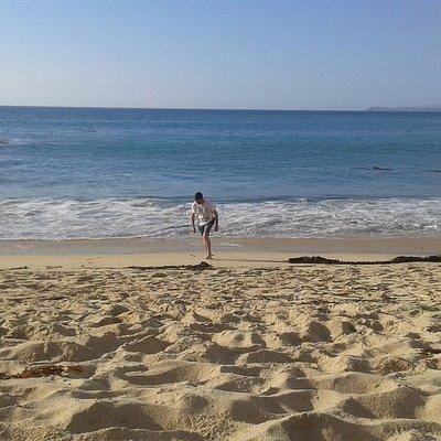 Frente a San Alfonso del mar
