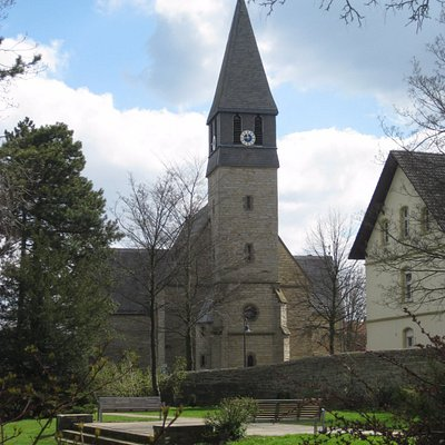 Колокольня церкви св. Йодока