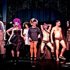 One of Seattle's longest running drag shows.  Bacon Strip the Big Gay Variety Show