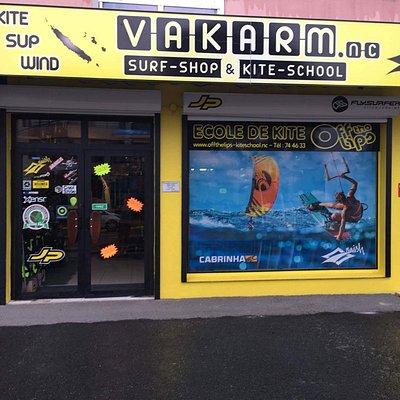The surfshop à Nouméa