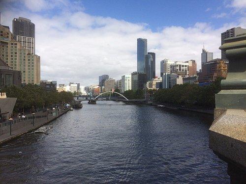 A View West From Princes Bridge