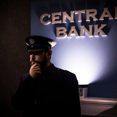 Bank robber seems like a god job?