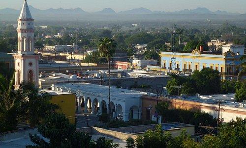 Blick über die Stadt von der Festung aus