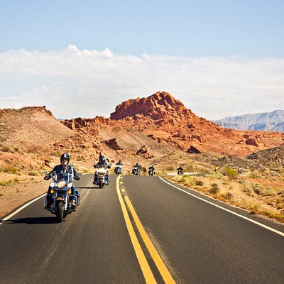 Valley of Fire, one of the top rides around Las Vegas
