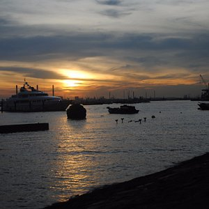 Very nice sunset spot