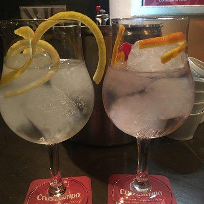 Gin tonic de lujo