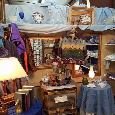Inviting displays of gently used - brand new items