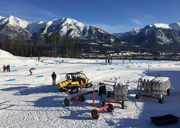 Biathlon Event at Canmore Nordic Center