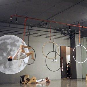 Fly Me To The Moon Hoop Studio Bangkok