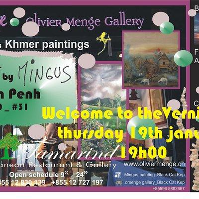 Nouvel espace dédié à l'Art à Phnom Penh, Rue 240#31 Artbymingus