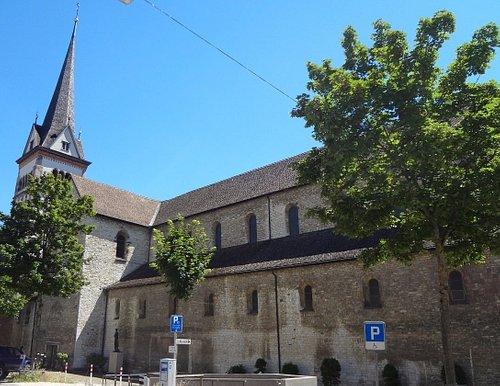 Münsterkirche à Schaffhouse (vue extérieure)