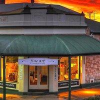 Step inside Fine Art Kangaroo Island gallery to glimpse the work of Kangaroo Island's finest art