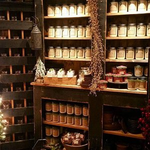 We offer many options in candles, melts  and scents throughout the shop.