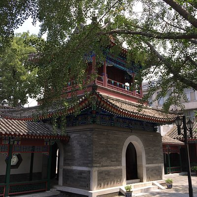 One of the four most famous mosques in Beijing. Newly renovated, located in busy part of town, b
