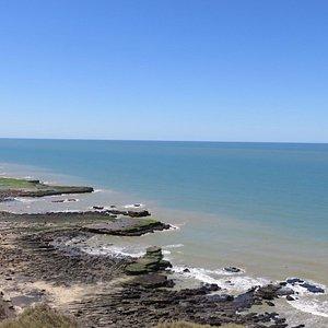 Vista desde la reserva