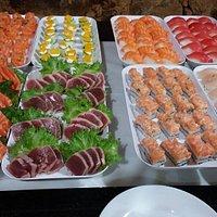 Rodizio de Comida Japonesa - Jantar