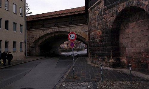 Nuernberg Mauer Tor