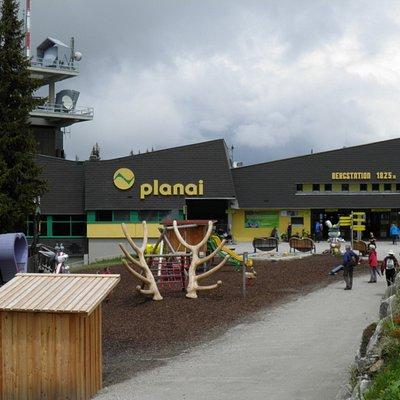 The Planai Hopsiland area
