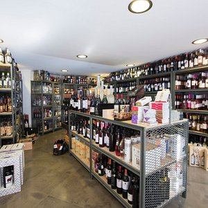 The most famous and rare labels of wine, greek ouzo, beer, spirits and local products.